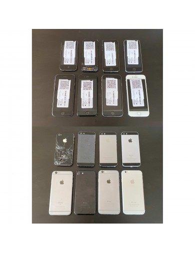 8 iPhone  à reconditionner