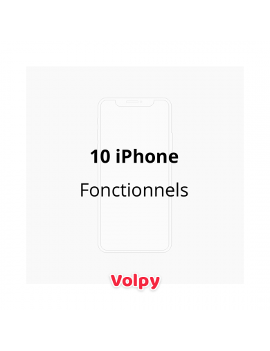 10 iPhone Fonctionnels