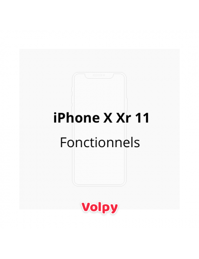 3 iPhone Fonctionnels - X...