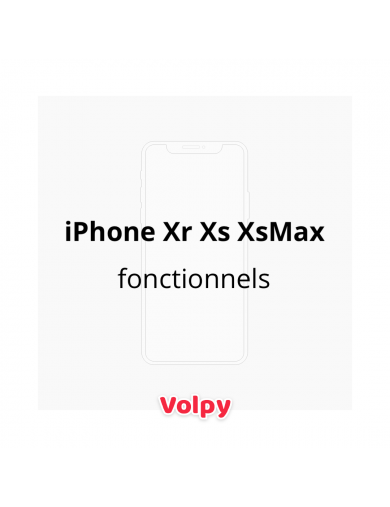 3 iPhone Fonctionnels - Xr...
