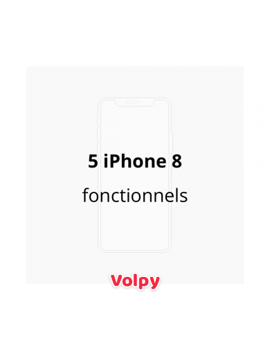 5 iPhone 8 Fonctionnels