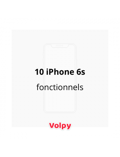 10 iPhone 6s Fonctionnels