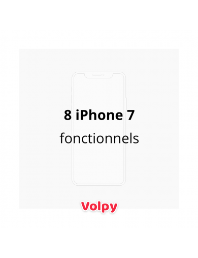 8 iPhone 7 Fonctionnels