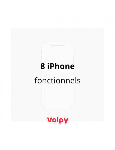 8 iPhone Fonctionnels