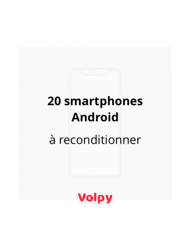 20 Smartphones Android à...