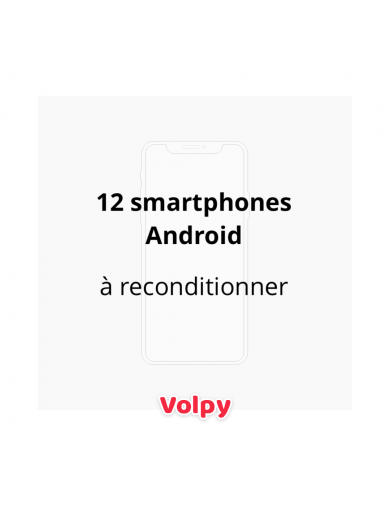 12 Smartphones Android à...